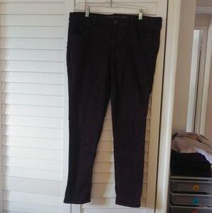 American Eagle Dark Purple Jeans